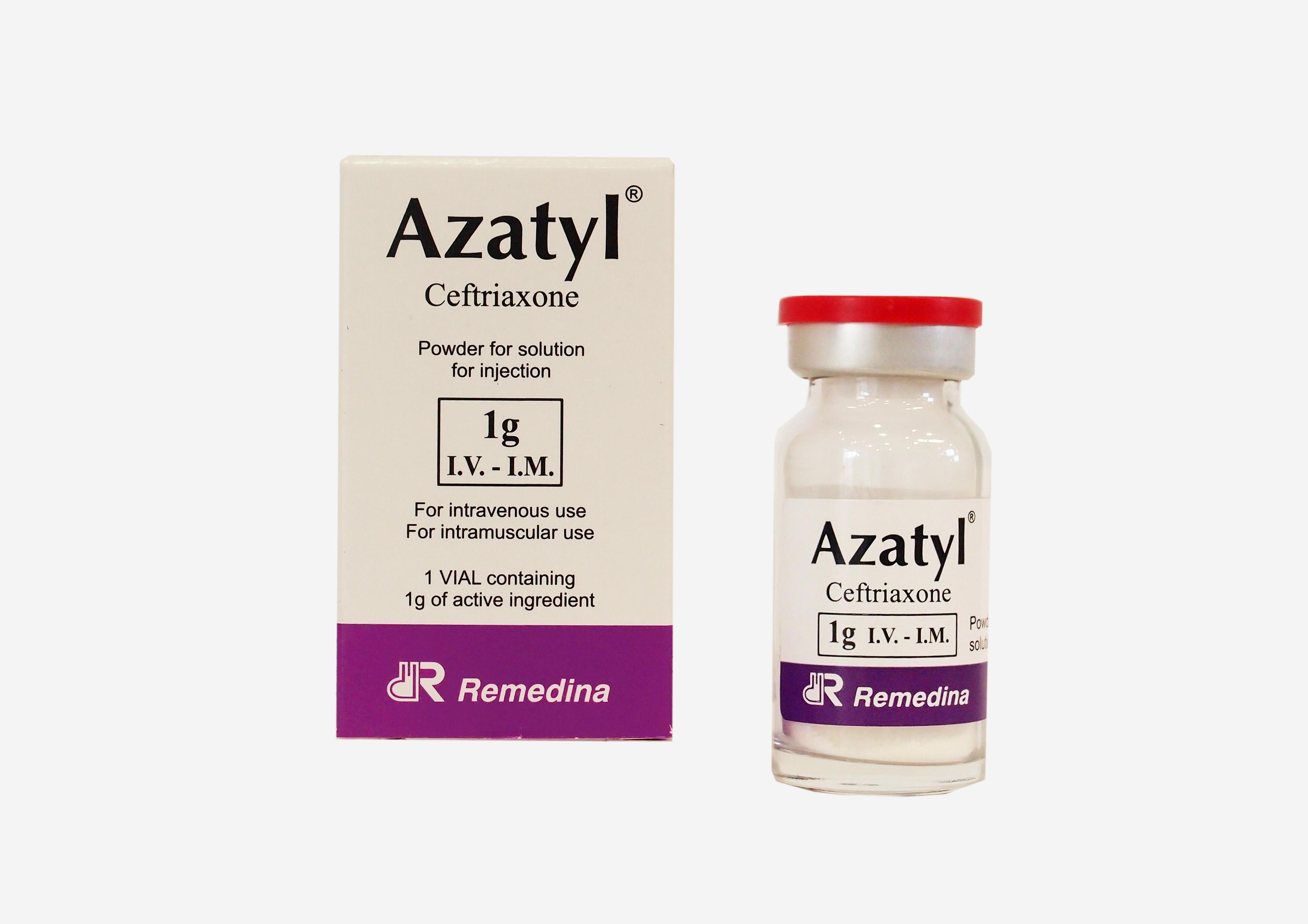 Azatyl 1g IM IV